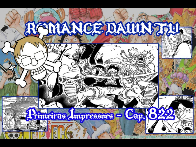 RDTV 1ªs Impressões: Cap. 822 - Vem Festá do Chá!! Vem Kaidou!! Vem Reverie!!