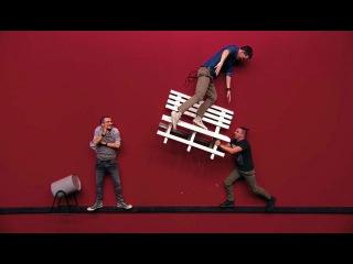 Импровизация «Красная комната»: Пьяный в парке и полицейский. 2 сезон, 3 серия (15)