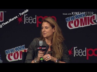 Underworld: Blood Wars, Theo James and Kate Beckinsale at the NYCC 2016