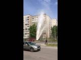 Прорыв трубы Барнаул Петрова-Попова