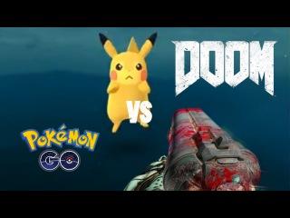 Doom 4 vs Pokemon GO (EPIC СМС VIDEO СКАЧАТЬ EVER БЕСПЛАТНО БЕЗ)