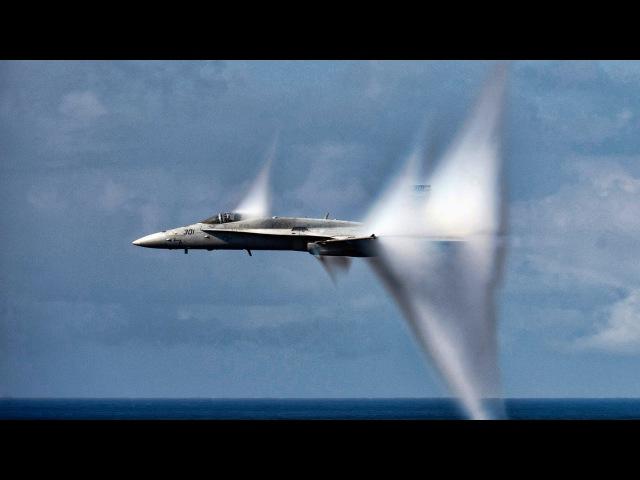 Самолеты преодолевают звуковой барьер | Fighter Jets Breaks Speed of Sound 2016