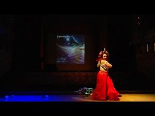 Алена Есаулова Show Belly Dance Красная королева