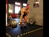 Кшиштоф Вербицки, тяга 342,5 кг