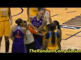 Brittney Griner And Cappie Pondexter Get Ejected For Altercation