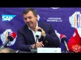 Комментарии игроков и пресс-конференция Олега Знарка