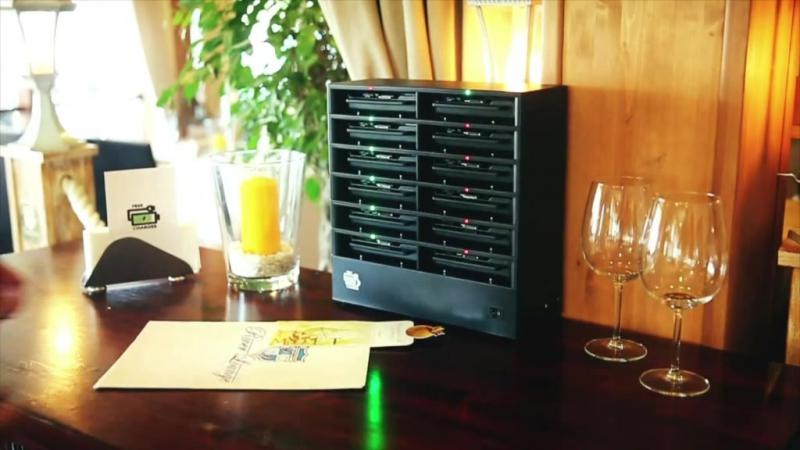 Універсальна зарядна станція у Пивоварній ресторації КОВЧЕГ