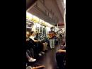 Музыкант в метро Нью-Йорка 20160918_103344