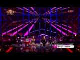 131227 Hyorin &amp Ailee   Telephone Lady Gaga @ 2013 KBS Gayo Daejun