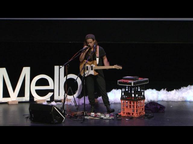 Finding a place through music | Tash Sultana | TEDxUniMelb