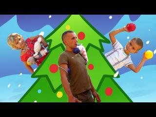 НОВОГОДНЯЯ ЕЛКА игры для детей зарядка Игро-Утро CHRISTMAS TREE games for kids funny games active
