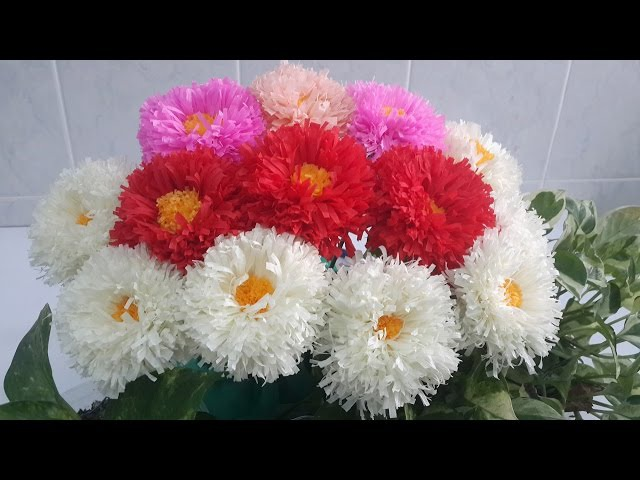 English Daisy Paper Flower