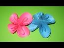 Поделки из бумаги Оригами цветы Оrigami flower Flores Подарок на день учителя Поделки своими руками