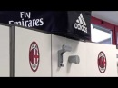 First day of tests at Milanello