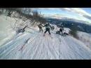 Epick ski  Fail  || Эпический горнолыжный завал
