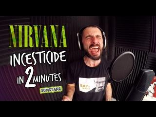 Nirvana - Incesticide за 2 минуты - Domstang [HD]