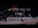 LAMANI TANCI vol. 13 * HIP HOP PRO 1x1 Final - Komix vs Prokop