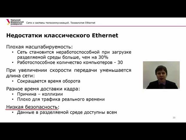 Технология Ethernet часть 2 Архив