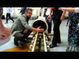 Rosch KPP  GAIA AuKW 5kW power plant generator disassembly, May 13th '15 Raw Footage