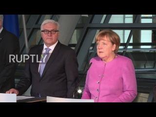 Германия: Меркель вводит МИД Штайнмайера в качестве кандидата в президенты.