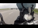 Максималка BMW S1000XR на трассе М11 - Top Speed of BMW S1000 XR 2015 on Highway M11 msk-spb
