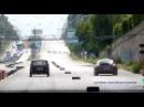 Porsche Panamera GTS vs VAZ 2121 Niva drag race