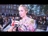 The Girl On The Train  World Premiere Interviews  Haley Bennett, Emily Blunt, Luke Evans