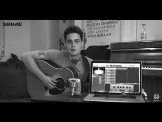 Shure Motiv Dressing Room Recordings: Douwe Bob with Cynic
