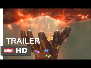 Мстители: Война бесконечности - послание Таноса.Среди старых кадров будут НОВЕЙШИЕ,где Танос получил все камни!