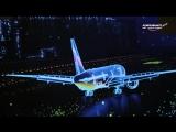 Шоу Аэрофлота на фестивале «Круг света» в Крылатском