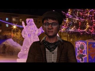 Шуточное поздравление с Новым Годом 2017 из Печоры