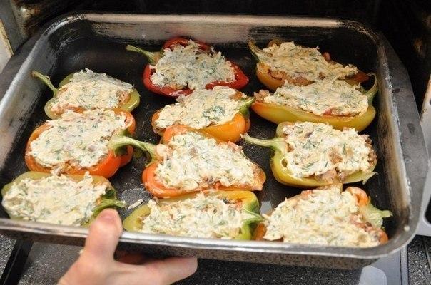 Перец в духовке рецепты с фото простые