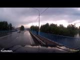 ДТП на мосту через реку Уда в Иркутской области