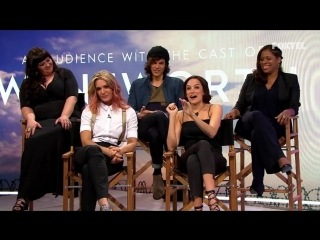 Audience with the cast of wentworth (nicole da silva)