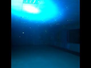 Подсветка зала. Школа