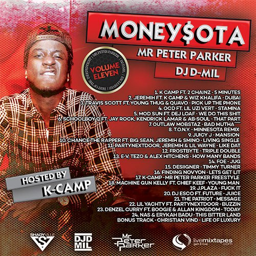 MoneySota 11 (Hosted By K. Camp) - 2016