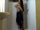 Wet Girl 1 (Wetlook Shower Fully Clothed)