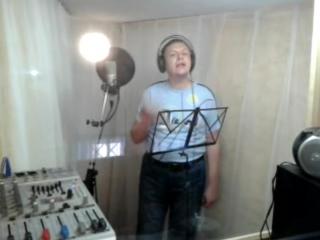 Алексей Приданцев - Фрагмент записи в студии к выступлениям на 9 мая 2012 года. Официальный сайт: www.pridantsev.narod.ru