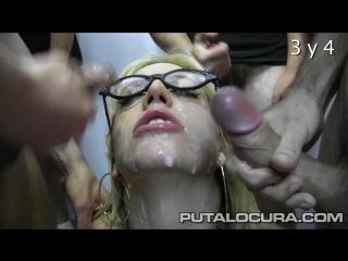 Putalocura com Bukkake Blondie Fesser Crema facial de 29 lefazos 2014 bukkake oral swallow 720p SiteRip