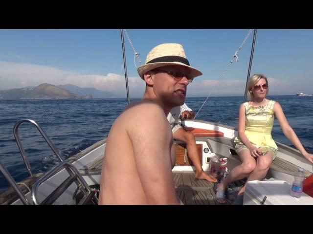 Италия остров Капри: на катере вокруг острова - часть 9 Авиамания