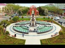 Фонтан у памятника Святой Екатерине и Александровская Триумфальная арка, Красн ...