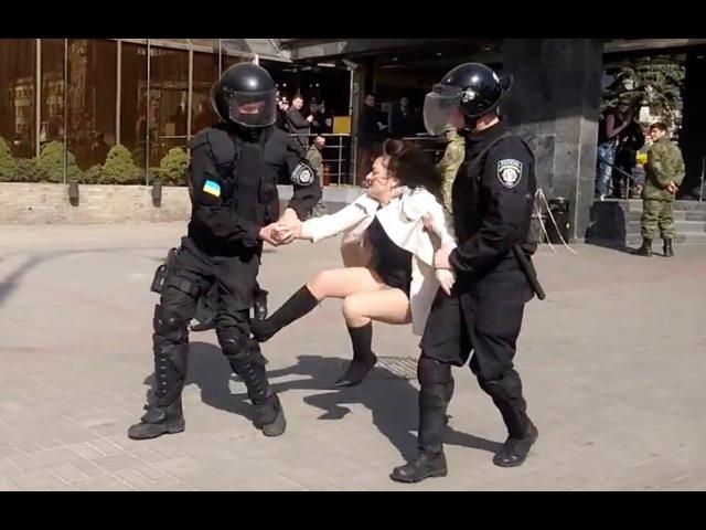 Полиция задерживает Ирму Крат захватчицу готеля Лыбидь