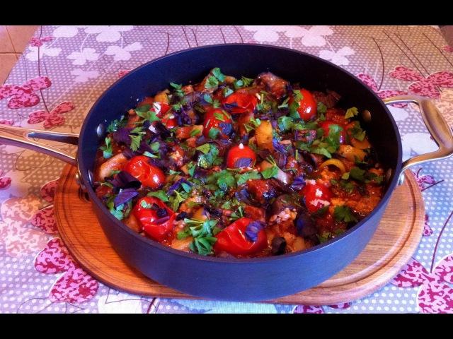 Овощная Сковородка с Мясом / Vegetables With Meat / Очень Простой и Вкусный Рецепт