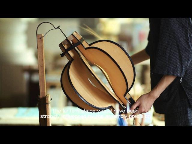 手技TEWAZA「岐阜提灯」gifu paper lantern
