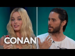 Jared Leto & Margot Robbie Got Shaved Down For