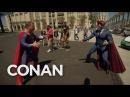Conan Patrols Comic-Con® In His Superhero Suit - CONAN on TBS