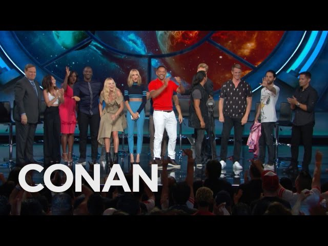 The Suicide Squad Cast's Rockstar Entrance - CONAN on TBS