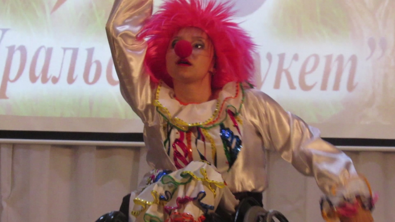 Ансамбль танца на колясках Гротеск (г. Пермь)