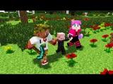 Диллерон и Миникотик. Свин и Лаки блоки. Minecraft Мультики (Lucky Block)