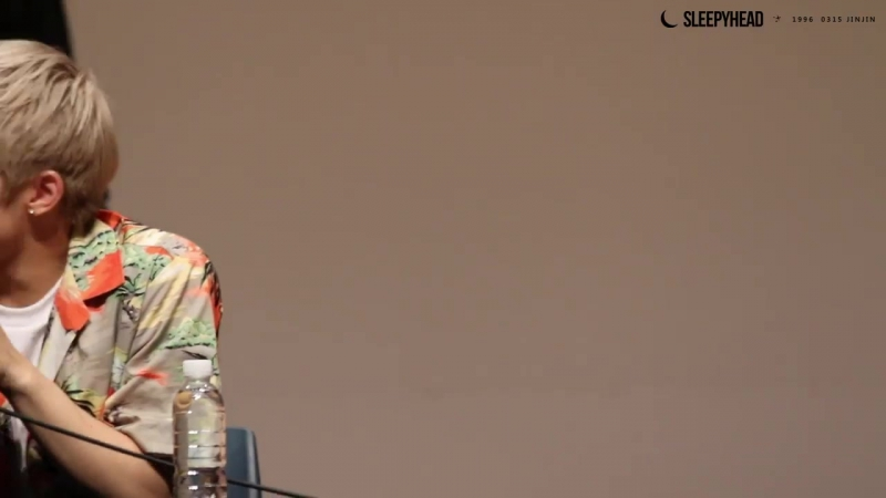 [160715] 건대 팬싸 막내가 형의 랩을 놀리는게 참 귀엽지 ㅋㅋㅋ 화내지마 진우 ㅎㅎ